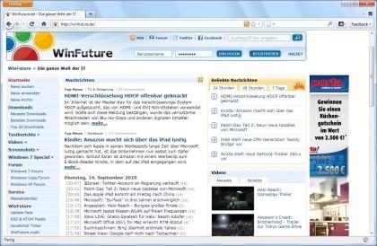 Firefox 4.0 Beta 6