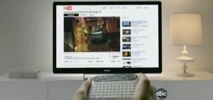 Google TV Fernbedienung von Sony