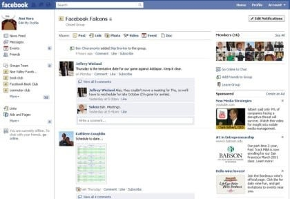 Facebook neue Funktionen