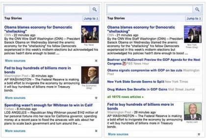 Google News Mobile