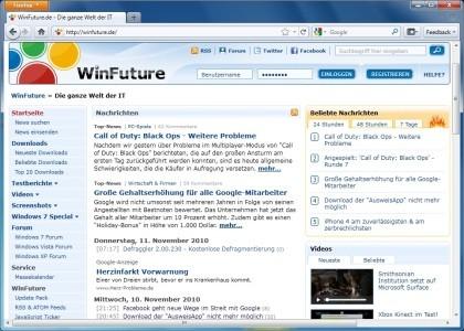 Firefox 4.0 Beta 7