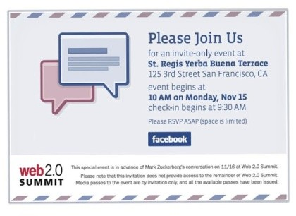 Facebook Event mit Projekt Titan