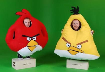 Angry Birds zu Halloween