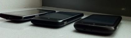 Windows Phone 7: Smartphones von HTC