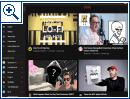 Neue YouTube-Startseite