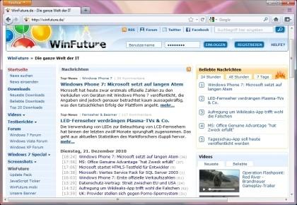 Firefox 4.0 Beta 8