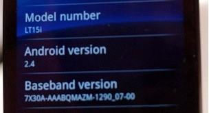 Android 2.4 auf dem Sony Ericsson Xperia Arc