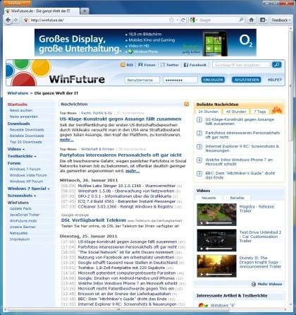 Firefox 4.0 Beta 10