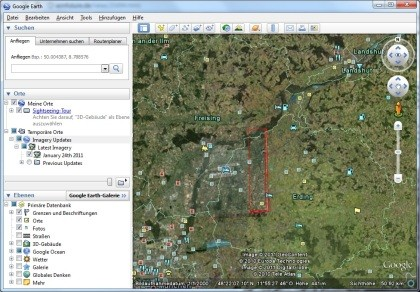 Google Earth / Maps Imagery Update January 2011