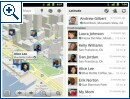 Google Maps mit Latitude Checkins