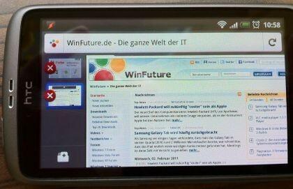 Firefox für Android Beta 4