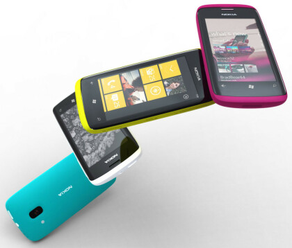 Nokia Windows Phone 7 Smartphone Konzept