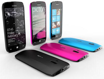 Nokia WP7 Smartphone Concept