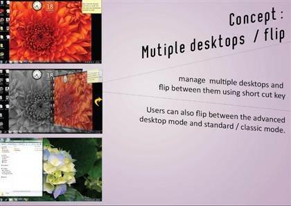 Windows 8 Design-Konzept