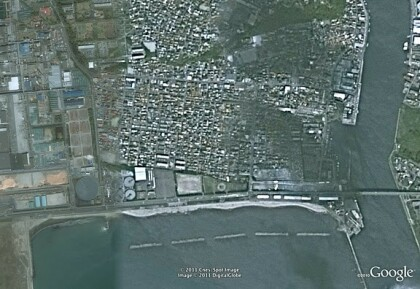 Google Satellitenbilder Japan