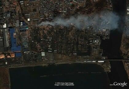 Google Satellitenbilder Japan