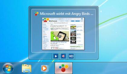 Spezielle Funktionen des Internet Explorer 9