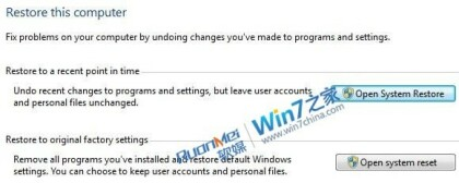 Windows 8 - System Restore