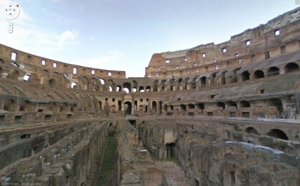 Google Street View Kolosseum