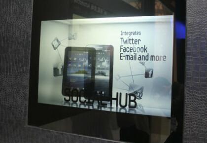 Transparentes LCD