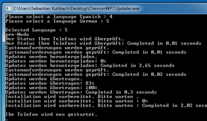 Windows Phone 7 NoDo-Update