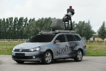 Bing Streetside Kamerafahrzeug
