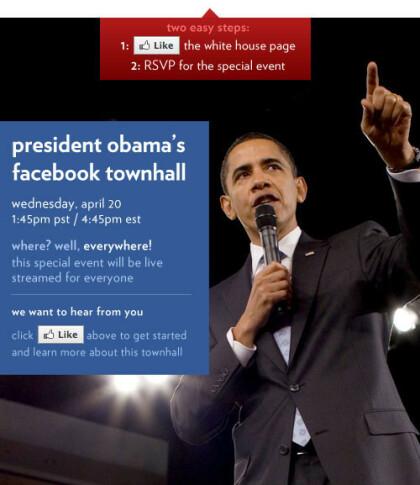 Obama bei Facebook