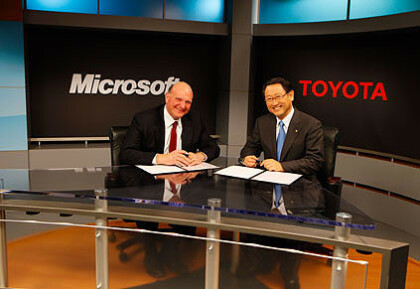 Microsoft Toyota