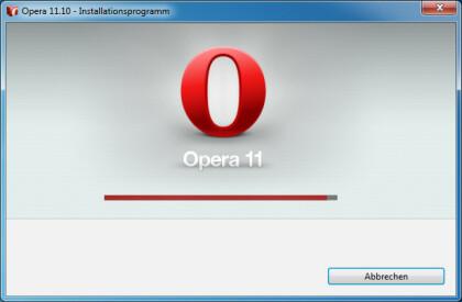 Opera 11.10 - RC