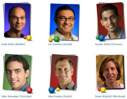 Google Vice Presidents