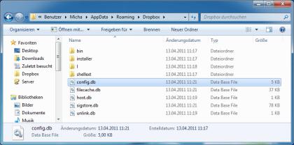 Dropbox Sicherheitsl�cke