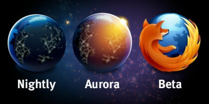 Firefox Release-Kanäle