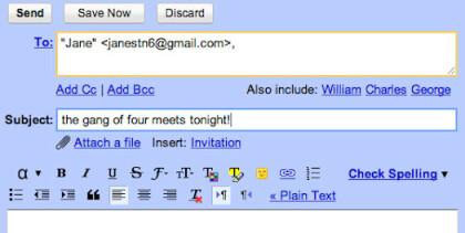 Google Mail Bob