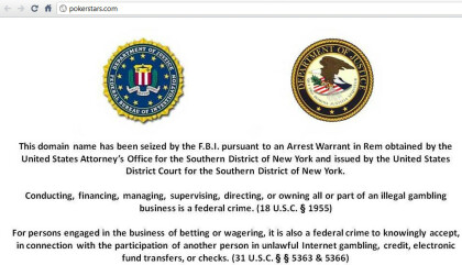 FBI schließt Poker-Websites