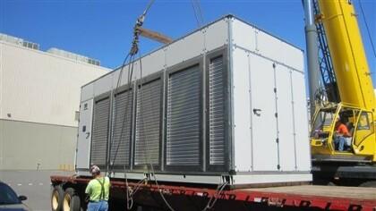Microsofts Container-Rechenzentrum