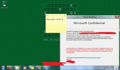 Windows 8 Milestone 3