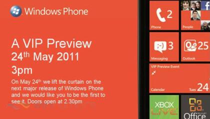 Window Phone - Einladung