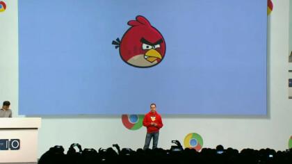 Peter Vesterbacka auf der Google I/O