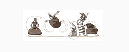 Google Doodle - Martha Graham
