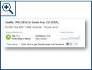 Facebook-Integration bei Bing
