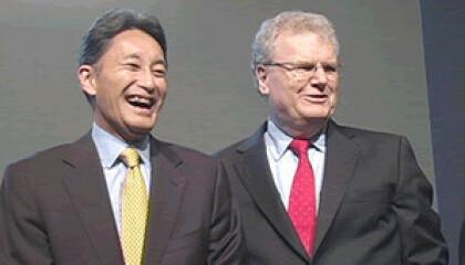Howard Stringer und Kazuo Hirai