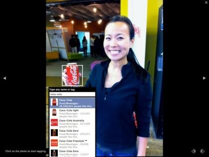 Foto-Tagging bei Facebook