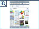 Neue mobile Website von Google