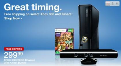 Kinect-Werbung von Target