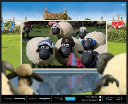 Shaun the Sheep 3D CSS