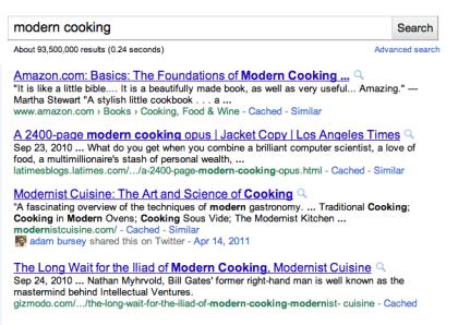 Googles soziale Suche