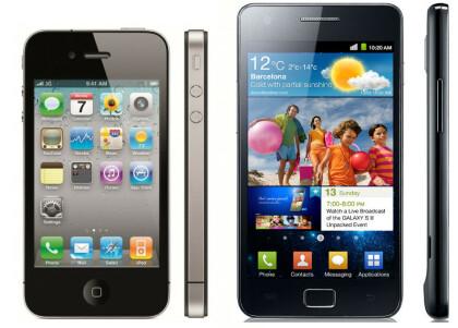 Vergleich iPhone 4 vs. Galaxy S2