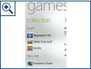 "Windows Phone ""Mango"" Spiele-Hub"