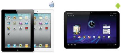 iPad 2 vs. Xoom