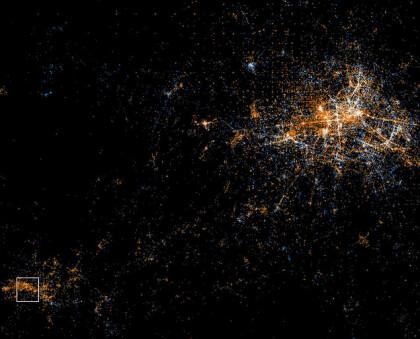 Flickr und Twitter visualisiert